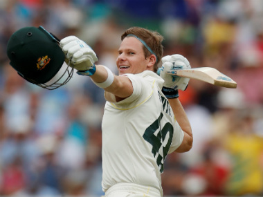 Steve Smith struck back-to-back hundreds in his first Test appearance since the ball-tampering scandal. Reuters
