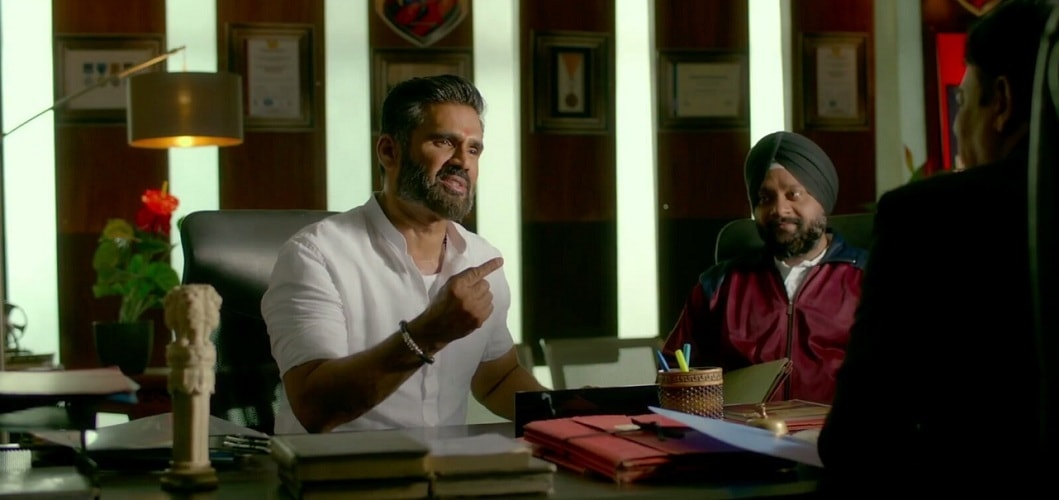 Suniel Shetty on his comeback working with Kichcha Sudeep in Pehlwaan and son Ahans entry into Bollywood