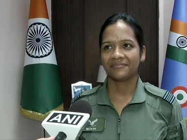 IAF officer Minty Agarwal who provided Abhinandan Varthaman air support during 27 Feb dogfight becomes first woman to get Yudh Seva medal