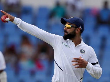With Antigua Test win, Virat Kohli became the most successful Indian captain in overseas Tests. AP