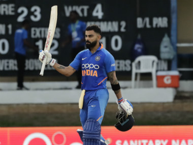 Virat Kohli struck a match-winning 114 not out to guide India to a six-wicket win in the third ODI. AP