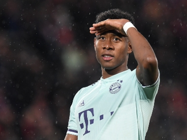Champions League Bayern Munichs David Alaba set to miss groupstage opener against Red Star Belgrade with thigh injury