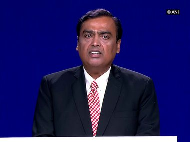 At Reliance Industries AGM Mukesh Ambani says company to make several announcements for JK Ladakh in near future