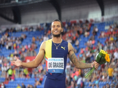Birmingham Diamond League Canadian Andre de Grasse taking baby steps to reattain tag of heir apparent to Usain Bolt
