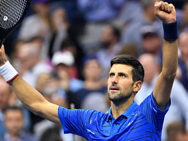 US Open 2019 Novak Djokovic deals with pain Roger Federer once again concedes deficit before win in rainhit day