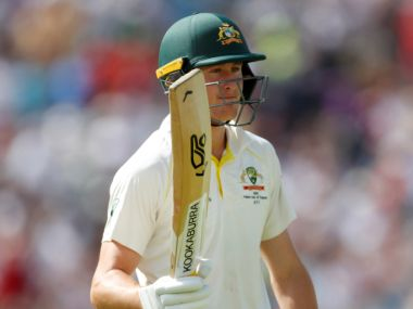 Cricket - Ashes 2019 - Third Test - England v Australia - Headingley, Leeds, Britain - August 24, 2019 Australia's Marnus Labuschagne reacts after losing his wicket Action Images via Reuters/Andrew Boyers - RC140715F080