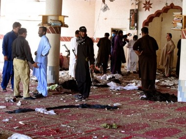 Five killed in Pakistans Quetta as bomb blast targets Friday prayers mosque head brother of top Taliban leader among deceased