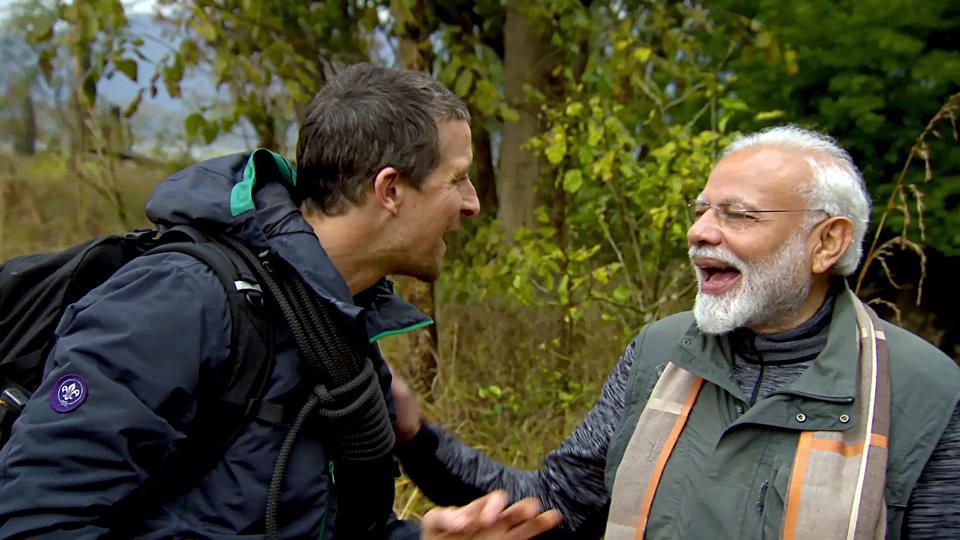 Narendra Modis Man vs Wild episode plays it safe with memeworthy moments and hackneyed messaging