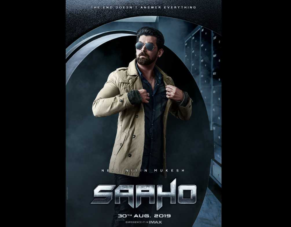 When I went on the Saaho set I thought I was in a Christopher Nolan film Neil Nitin Mukesh