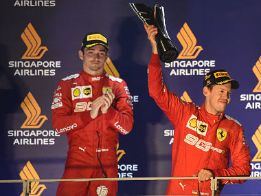 Formula 1 2019 Charles Leclerc bemoans Ferraris frustrating pit strategy at Singapore Grand Prix after missing third straight win