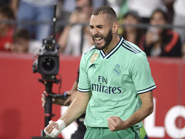 LaLiga Karim Benzemas goal makes the difference as Zinedine Zidanes Real Madrid overcome Sevilla challenge