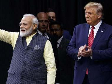BJP slams Congress on scepticism over Donald Trumps India visit asks why it is unhappy when countrys stature is raised globally