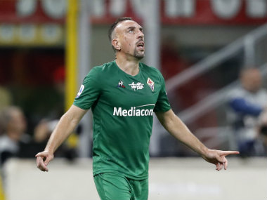 Serie A Frank Ribery scores in Fiorentinas 31 victory over AC Milan Napoli get back to winning ways with 21 triumph over Brescia