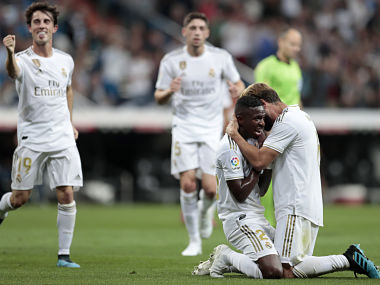 LaLiga Zinedine Zidanes Real Madrid move to top of table with victory over Osasuna Atletico beat Mallorca