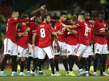 League Cup Manchester United survive scare against third tier Rochdale West Ham suffer shock defeat to Oxford