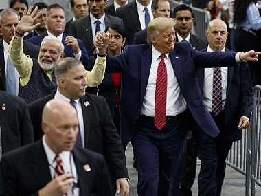 Did Narendra Modi violate Indian foreign policy by endorsing Trump at Howdy Modi PM isnt first world leader to back counterparts