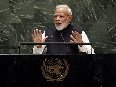 Full text of PMs address to UNGA Lack of unanimity over terror dents principles that are basis for creation of UN says Narendra Modi