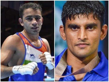 World Boxing Championships 2019 Medalwinning show assures Amit Panghal Manish Kaushik of place in next years Olympics Qualifiers