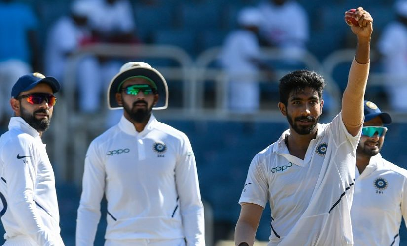 """Bumrah is an exceptional talent, the special ability the awkward angle which he delivers from gives him that edge and advantage over the batsman."" Image courtesy AP"