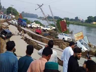 22 dead 200 injured as earthquake measuring 58 strikes Mirpur town in Pakistan occupied Kashmir