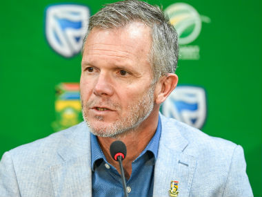 File image of Cricket South Africa Director of Cricket Corrie van Zyl. AFP