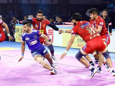 Pro Kabaddi 2019 Bengal Warriors play out tie with Gujarat Fortunegiants Haryana Steelers stage convincing win over Dabang Delhi