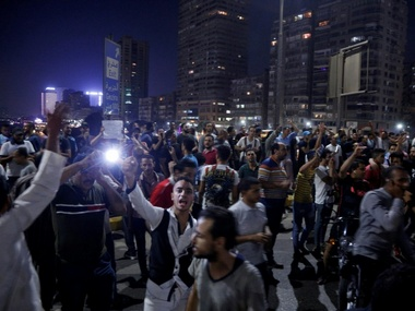 Egypt protests Authorities arrest journalists block news websites for inaccurate coverage of antiSisi demonstrations