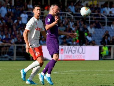 Serie A Juventus held to goalless draw by Fiorentina in manager Maurizio Sarris touchline debut