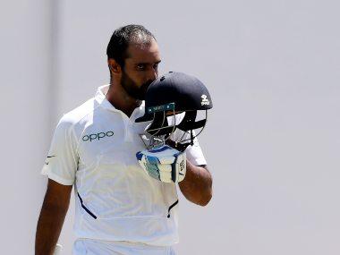 Hanuma Vihari has so far not played a single Test match in India. AP