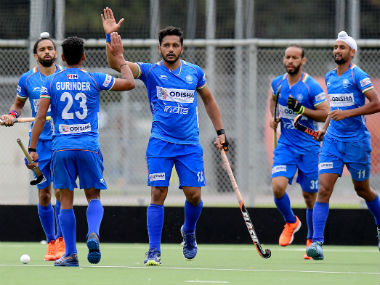 Harmanpreet Singh fires another brace as India mens hockey team overpower Spain 51 collect third win on the trot