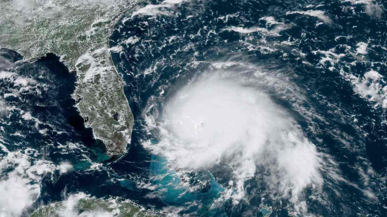 Climate change is causing warmer seas which leads to stronger hurricanes more destruction