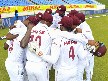File image of West Indies Test team. (Photo by Randy Brooks / AFP)