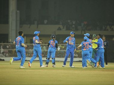 India now take a 1-0 lead in the three-match series. Image: Twitter @BCCIWomen