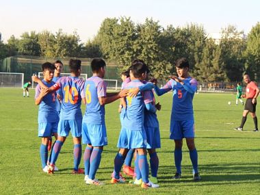 2020 AFC U16 Championship Qualifiers Sridarths brace powers India to huge win over Turkmenistan in opening match
