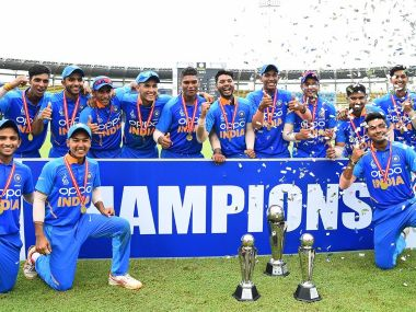India successfully defended the low target of 107 to win U-19 Asia Cup final. @ACCMedia1