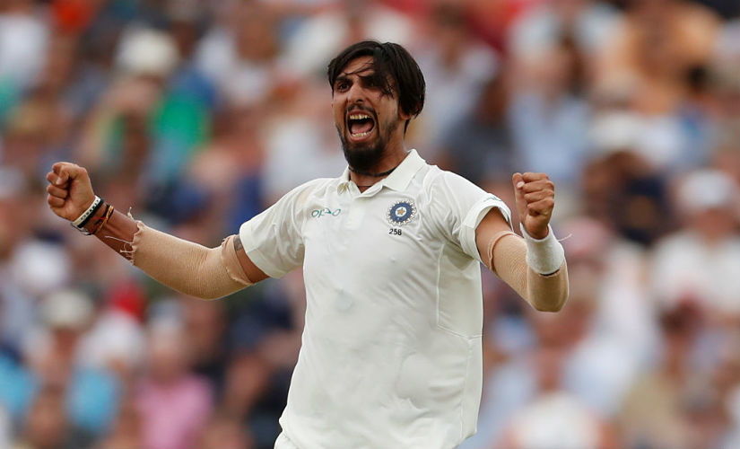 """You've always seen Ishant running in hard. You've always seen him bowl those long spells, and that many number of overs, that has been his strength and that strength is now backed by some smart bowling which is giving him the success."" Image courtesy Reuters"