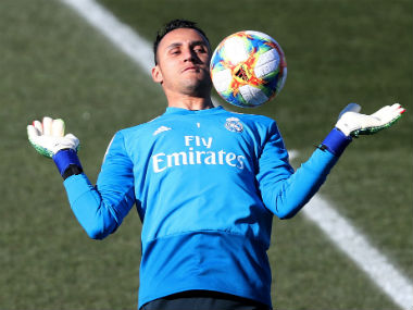 Real Madrid shotstopper Keylor Navas heads to Paris SaintGermain in goalkeeper exchange between European heavyweights