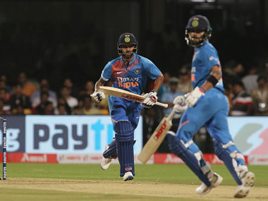 Virat Kohli and Shikhar Dhawan have moved up in the latest ICC Men's T20I player rankings. Sportzpics