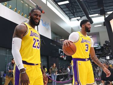 NBA LeBron James bullish about new Los Angeles Lakers teammate Anthony Davis role in upcoming season