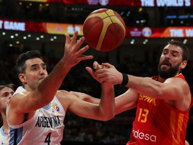 FIBA World Cup 2019 Marc Gasol completes historic double as Spain beat Argentina 9575 to win second title