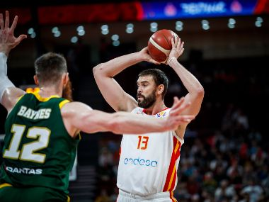 FIBA World Cup 2019 final Marc Gasol on verge of rare double as Spain Argentina fight out for second title