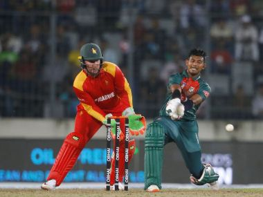 Bangladesh were bailed out by Mosaddek Hossain and Afif Hossain after being reduced to 60/6 chasing 145 against Zimbabwe. @ICC