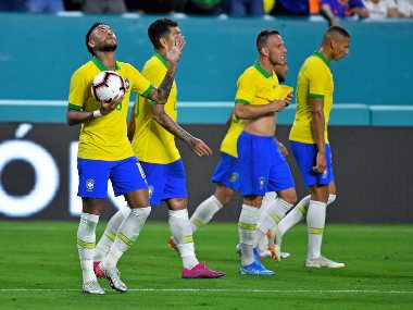 Neymars equaliser helps Brazil draw Colombia 22 in friendly on return from injury