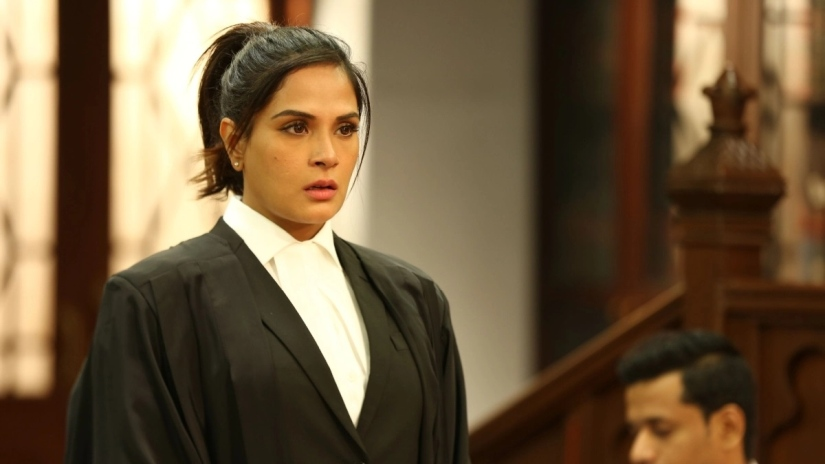 Richa Chadha on Section 375 criticism about the film and stretching her acting muscles