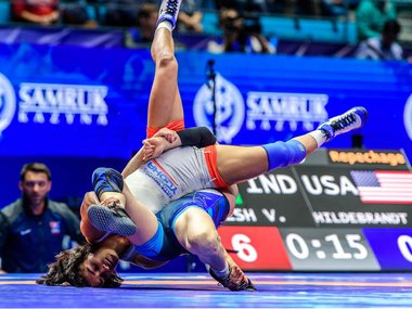 World Wrestling Championships 2019 Vinesh Phogat clinches bronze and Tokyo 2020 quota Pooja Dhanda stays in reckoning