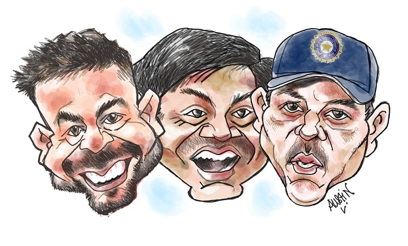 Who calls the shots? Selectors don't necessarily need to pander to the likes and dislikes of the high and mighty in the team, be it the skipper, coach or any other superstar. Illustration courtesy Austin Coutinho