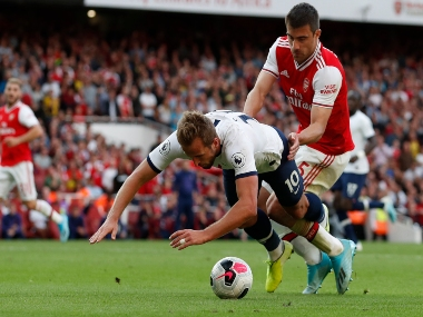 Premier League Spurs Harry Kane slams reports claiming he dived on purpose to win late penalty against Arsenal in London derby