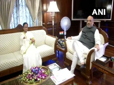 Mamata Banerjee raises issue of 19 lakh people being excluded from Assam NRC during meeting with Amit Shah