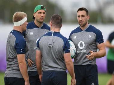 Rugby World Cup 2019 Injuries force Ireland to make slew of changes ahead of tournament opener against Scotland