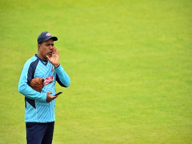 Sunil Joshi was Bangladesh's spin bowling coach until after the World Cup. AFP